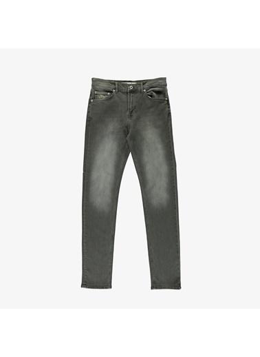 Lacoste Erkek Slim Fit Jean Pantolon HH0011.11Y Gri